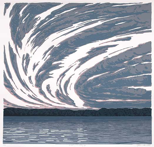 Print of Sky and Water